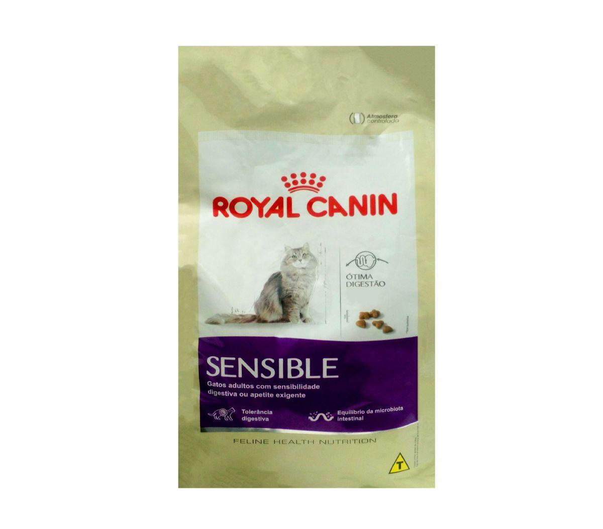 Ração Royal Canin Gatos Sensible
