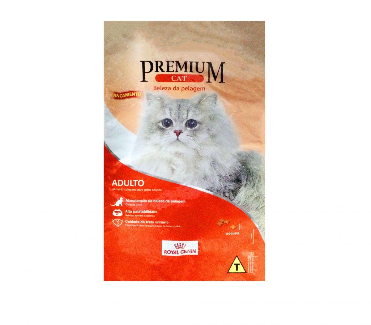 Ração Royal Canin Premium Cat Beleza da Pelagem